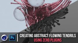 Skillshare – Creating Abstract Flowing Tendrils Using Zero Plugins