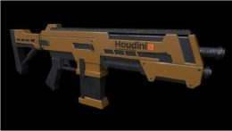 Game Asset Creation With Houdini – Season 1 – 3D Modelling in Houdini
