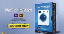 Skillshare – Flat Animation – Animate 2d Flat Objects in Adobe After Effects CC & Adobe Illustrator